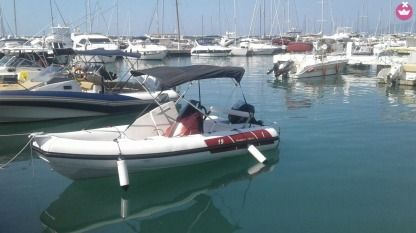 Rental RIB Hypart Enterprice Limited Rib 18 Carenacorsa A.m. 19 Andora