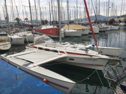 Location Catamaran Trimaran Dragonfly 1000 Roses