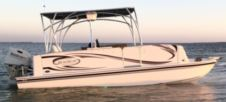 Beachcat 20′ Pontoon Boat in Osprey