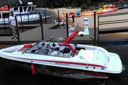 Hire Motorboat CLASS D+ REINELL 220 WITH TOWER South Lake Tahoe