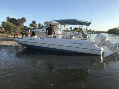 Rental Motorboat Hurricane 24 Fort Lauderdale