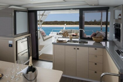 Rental Catamaran Fountaine Pajot Lucia 40 with watermaker Pointe-a-Pitre