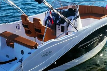 Verhuur Motorboot Oki Boats Barracuda 545 Split