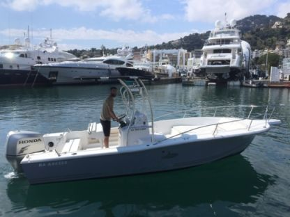 Rental Motorboat Kelt White Shark 215 Saint-Jean-Cap-Ferrat