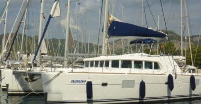 Location Catamaran Lagoon 500 San Vincenzo