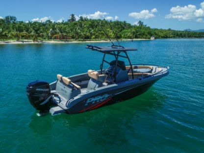 Rental Motorboat Pronautica Slam 790 Le Gosier