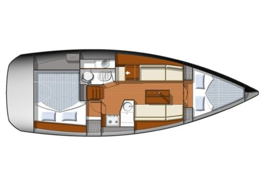 Sailboat Jeanneau Sun Odyssey 33i peer-to-peer