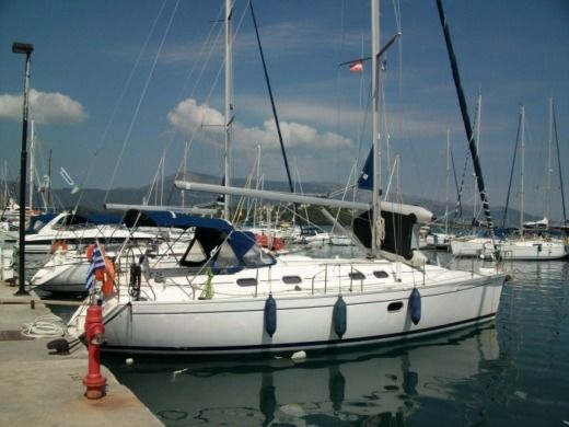 Dufour Gib Sea 41 in Corfu peer-to-peer