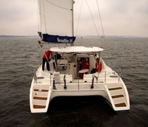 Catamaran Broadblue Catamarans 385 for hire