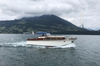 Hire Motorboat SUPER VAN CRAFT vedette Lausanne
