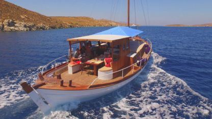 Miete Segelboot Greek Traditional Sailing Boat Anima Mykonos