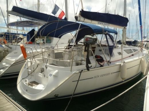 Sailboat JEANNEAU Sun Odyssey 40.3 for hire