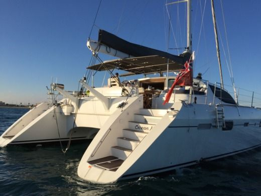 Catamaran ALLIAURA MARINE PRIVILEGE 585 EASY CRUISE peer-to-peer