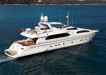 Charter Motorboat Falcon 102 Yacht Marbella
