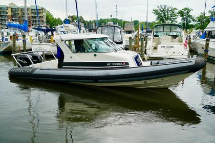 Hire Motorboat Protector 28 Oakland