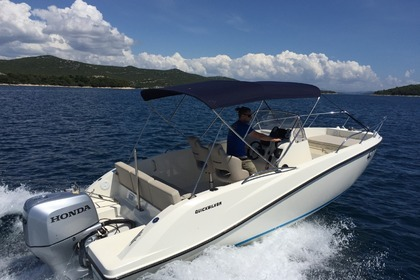 Hire Motorboat QUICKSILVER 675 open Tisno
