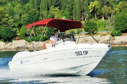 Miete Motorboot Allegra All 5.9 Ičići