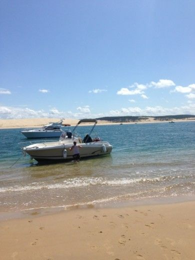 Charter motorboat in Andernos-les-Bains