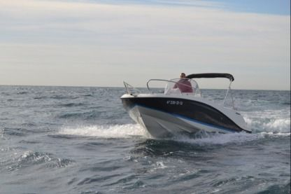 Rental Motorboat Quicksilver Activ 605 Open (Alnitak) Palamós