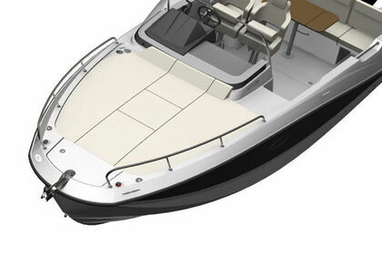 Rental Motorboat QUICKSILVER 755 Sundeck Rab