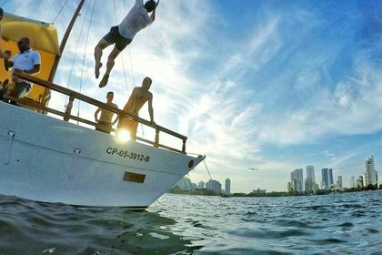 Hire Catamaran Custom Special Cartagena