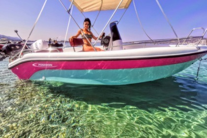 Hire Motorboat Poseidon BLUE WATER 170 Laganas