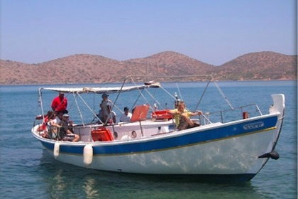 Rental Motorboat Taylor Made Wooden Traditional Agios Nikolaos