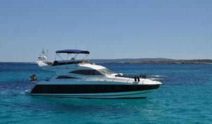 Charter Motorboat Princess 56 Fly Ibiza