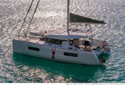Location Catamaran Lagoon 40 Saint-Barthelemy