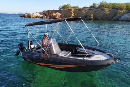 Rental Motorboat L.AMMOS 450 XL Paros