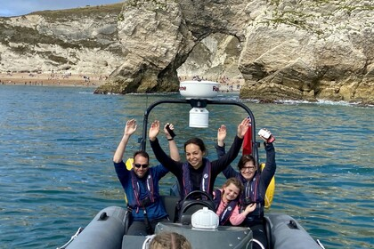 Rental RIB Jurassic Coast Sights - Guided Speedboat Tours Coastal Cruise Weymouth