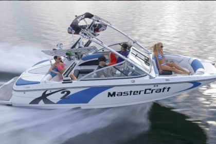 Hire Motorboat Mastercraft X2 New Buffalo