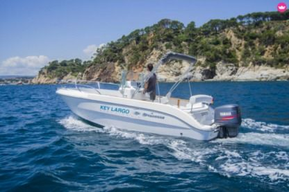 Rental Motorboat Sessa Key Largo 22 Palamós