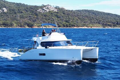 Miete Motorboot Fountaine Pajot Highland 35 Toulon