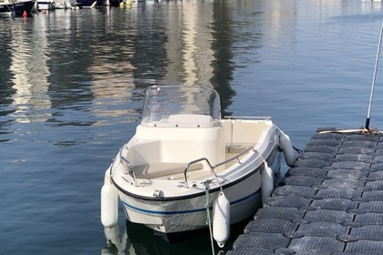 Hire Motorboat QUICKSILVER ACTIVE 455 OPEN électrique Sète
