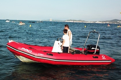 Location Semi-rigide Zodiac Pro 500 Grimaud