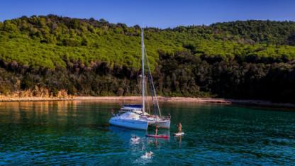 Charter Catamaran Alliura Marine Privilege 37 Scarlino