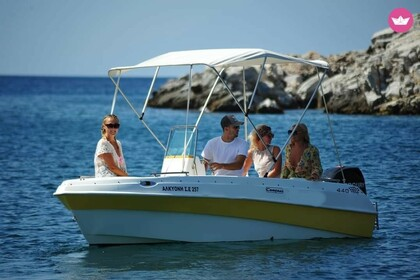 Charter Motorboat Compass 440 GT Thasos