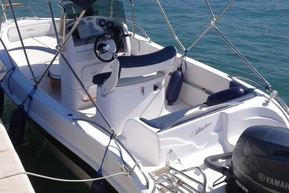 Rental Motorboat Blue line 19 Open Vodice