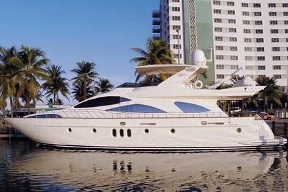 Location Yacht Azimut 80 Lighthouse Point