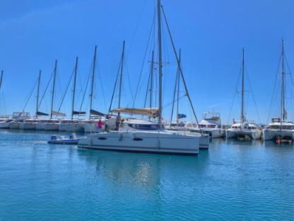 Location Catamaran Fountaine-Pajot Mahé 36 Saint-Tropez