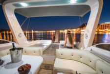Charter motorboat in Chania