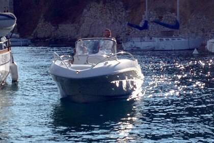 Verhuur Motorboot Quicksilver 635 Commander Cassis