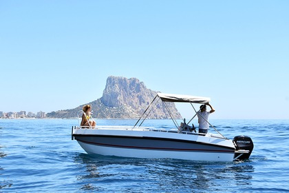Hire Motorboat Gasparet alu Altea