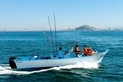 Hire Motorboat Custom Superpanga 27 Mazatlán