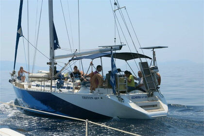 Hire Sailboat Triton 48 Porto Koufo
