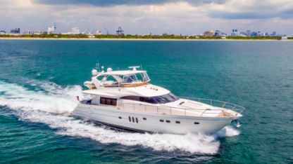 Rental Motorboat Princess 75 Boynton Beach