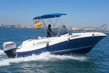 Rental Motorboat QUICKSILVER 635 COMMANDER La Pobla de Farnals