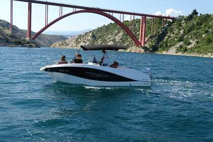 Rental Motorboat Oki Boats Barracuda 545 Jasenice, Zadar County