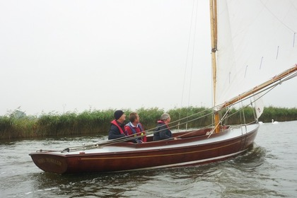 Charter Sailboat Buff Tip 34 Ludham